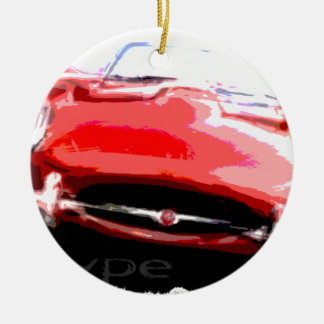 Classic Jaguar Ceramic Ornament