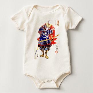 Classic Japanese Samurai Art Japan Baby Bodysuit