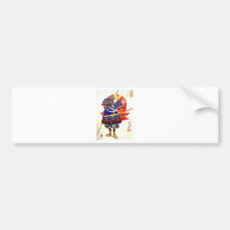 Classic Japanese Samurai Art Japan Bumper Sticker