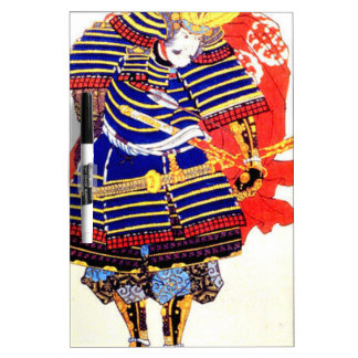 Classic Japanese Samurai Art Japan Dry-Erase Board