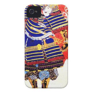 Classic Japanese Samurai Art Japan iPhone 4 Cover