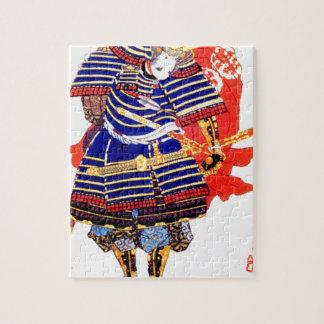 Classic Japanese Samurai Art Japan Jigsaw Puzzle
