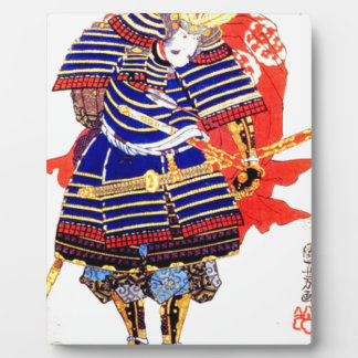 Classic Japanese Samurai Art Japan Plaque