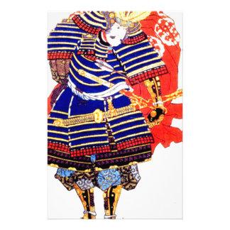 Classic Japanese Samurai Art Japan Stationery