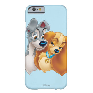 Classic Lady and the Tramp Snuggling Barely There iPhone 6 Case