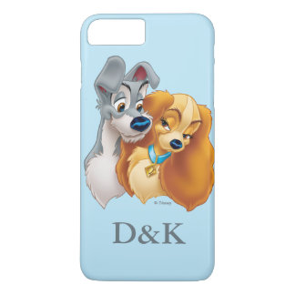 Classic Lady and the Tramp Snuggling | His & Hers Case-Mate iPhone Case