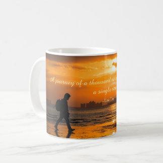 Classic Lao Tzu Journey Quote Coffee Mug