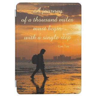 Classic Lao Tzu Journey Quote iPad Air Cover