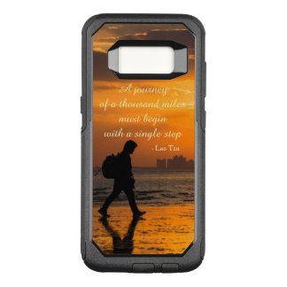 Classic Lao Tzu Journey Quote OtterBox Commuter Samsung Galaxy S8 Case