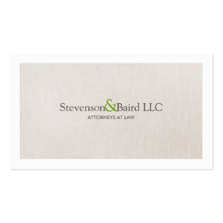 Classic Law Practice Attorney Professional Business Card