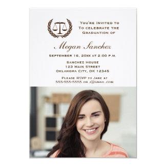 Classic Law School Graduation Card