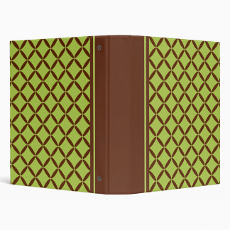 Classic Lime Pattern Binder