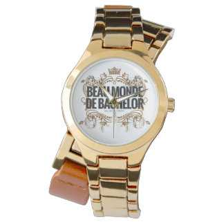 Classic Logo Watch: Beau Monde De Bachelor Watch
