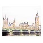 classic LONDON Post Card