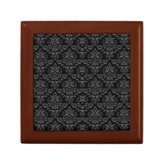 classic lotus like baroque pattern keepsake box