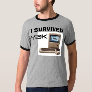 Classic Mac, I SURVIVED, Y2K T-Shirt