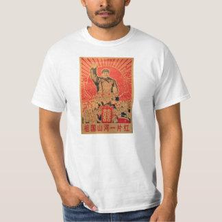 Classic Mao Zedong Propaganda Poster Tee