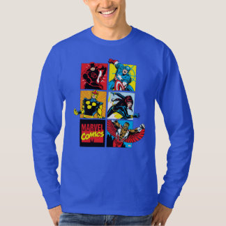 Classic Marvel Comics Super Heroes T-Shirt