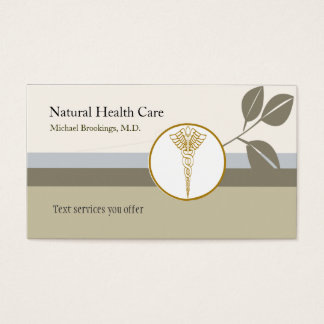 Classic Medicine Elegant Business Card