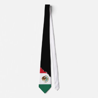 Classic Mexican Flag Tie