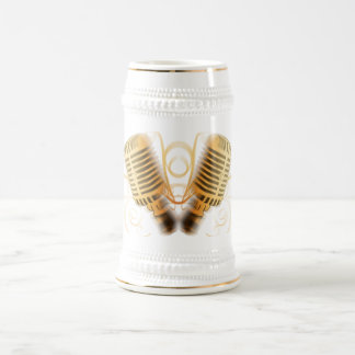 Classic Mic Beer Stein
