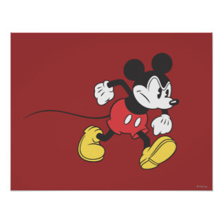 Classic Mickey | Angry Poster