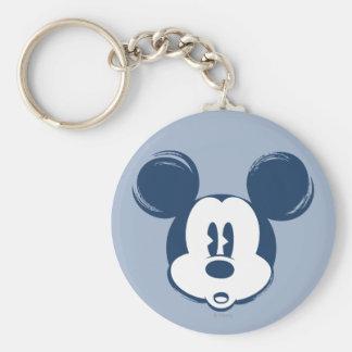 Classic Mickey | Blue Head Keychain