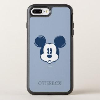 Classic Mickey   Blue Head OtterBox Symmetry iPhone 7 Plus Case