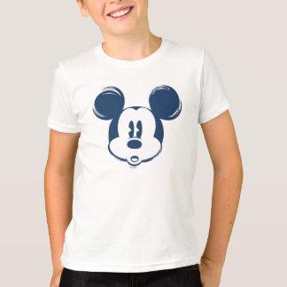 Classic Mickey | Blue Head T-Shirt