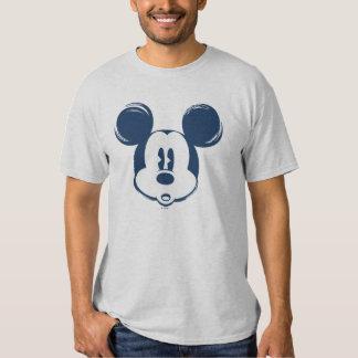 Classic Mickey | Blue Head Tee Shirt