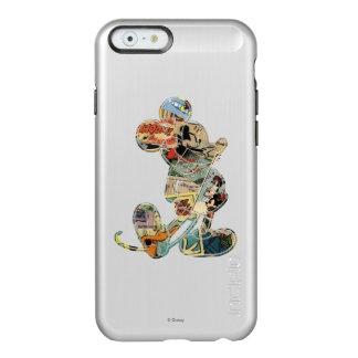 Classic Mickey | Comic Silhouette Incipio Feather® Shine iPhone 6 Case