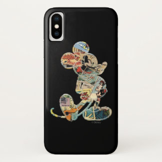 Classic Mickey | Comic Silhouette iPhone X Case