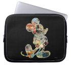 Classic Mickey | Comic Silhouette Laptop Sleeve