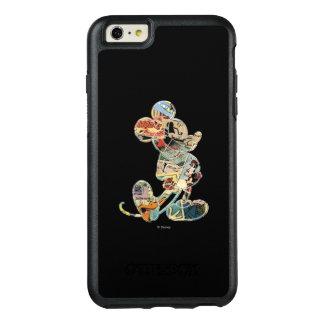 Classic Mickey | Comic Silhouette OtterBox iPhone 6/6s Plus Case