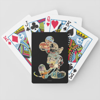 Classic Mickey | Comic Silhouette Poker Deck