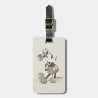 Classic Mickey | Distressed Luggage Tag