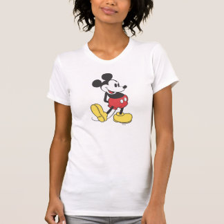 Classic Mickey   Hands Behind Back Shirts