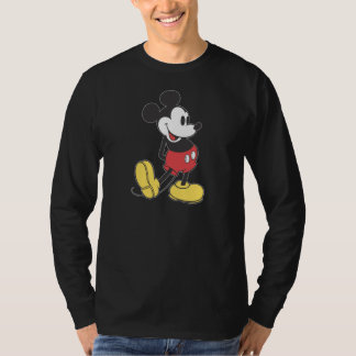 Classic Mickey   Hands Behind Back Tee Shirt
