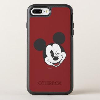 Classic Mickey   Head Tilt Wink OtterBox Symmetry iPhone 7 Plus Case
