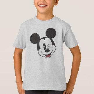 Classic Mickey   Head Tilt Wink T-Shirt