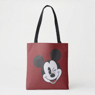 Classic Mickey | Head Tilt Wink Tote Bag