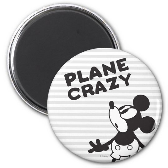 Classic Mickey | Plane Crazy 2 Inch Round Magnet