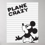 Classic Mickey | Plane Crazy Poster