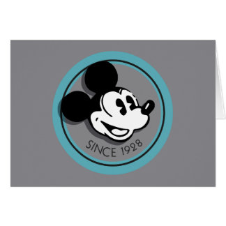 Classic Mickey Since 1928 Card
