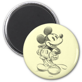 Classic Mickey | Sketch Magnet