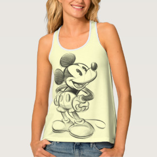 Classic Mickey | Sketch Tank Top