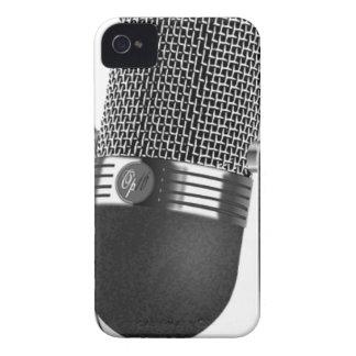 Classic Microphone Case-Mate iPhone 4 Case