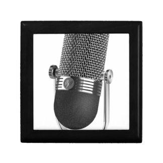 Classic Microphone Gift Box