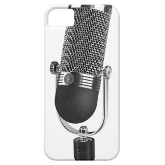 Classic Microphone iPhone 5 Cases