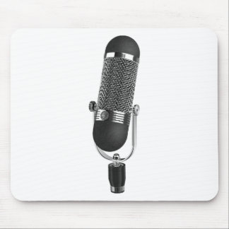 Classic Microphone Mouse Pad